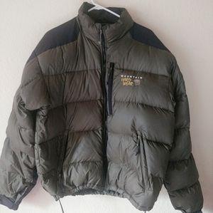 Mountain Hardwear Down Filled Puff Jacket Olive L